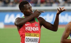 Tóquio2020: Mark Odhiambo é o primeiro caso de doping