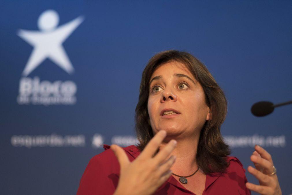 Catarina Martins acusa Altice de fraude e de dobrar a lei
