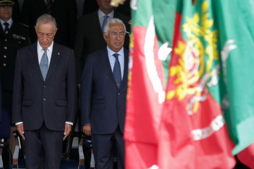 Marcelo dá posse a oito novos secretários de Estado
