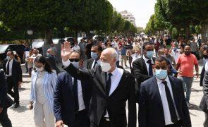 Tunísia: Presidente denuncia migração ilegal de jovens e justifica detenção de deputados
