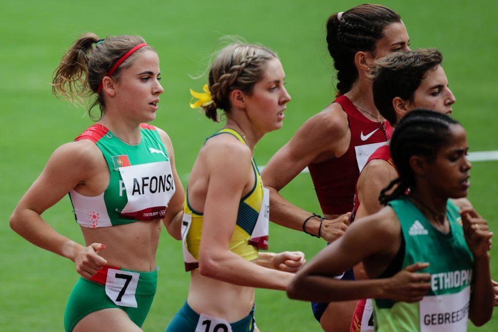 Tóquio2020: Salomé Afonso fica pelas eliminatórias nos 1.500 metros