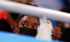 Tóquio2020: Ginasta Simone Biles vai participar na final de trave