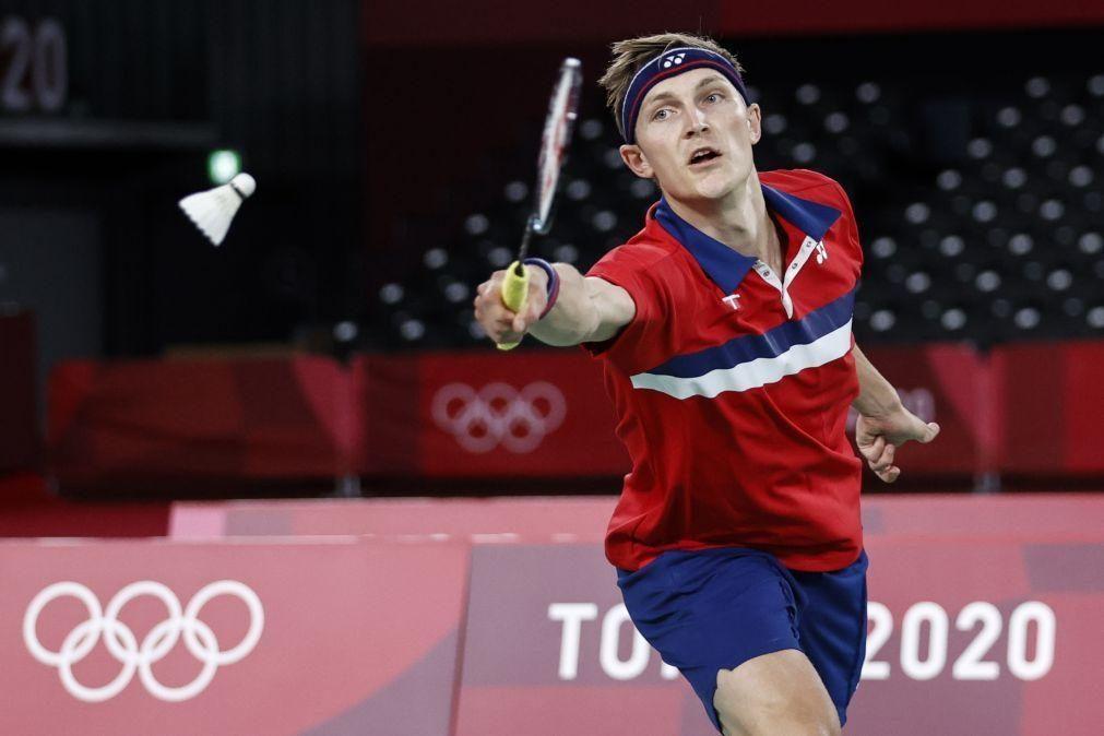 Tóquio2020: Dinamarquês Viktor Axelsen 'outsider' em domínio asiático no badminton