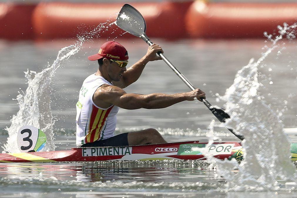 Fernando Pimenta é primeiro finalista luso nos Europeus de canoagem
