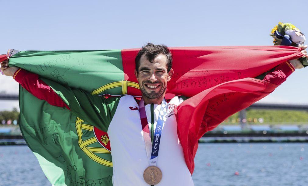 Tóquio2020: Canoísta Fernando Pimenta conquista medalha de bronze em K1 1.000