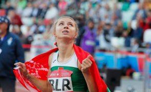 UE comenta que regime de Lukashenko nem tréguas olímpicas respeita