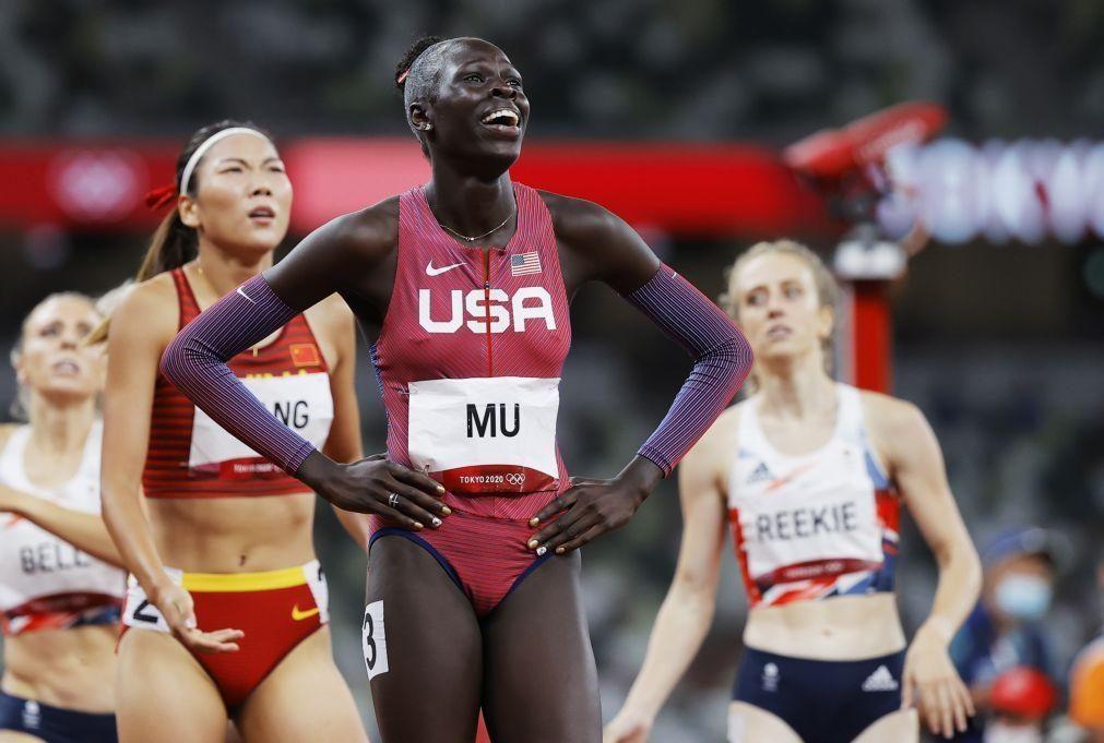 Tóquio2020: Jovem norte-americana Athing Mu é a campeã dos 800 metros