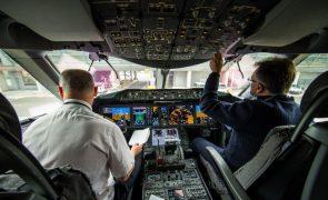 Covid-19: Europa com falta de 790 pilotos já em 2022