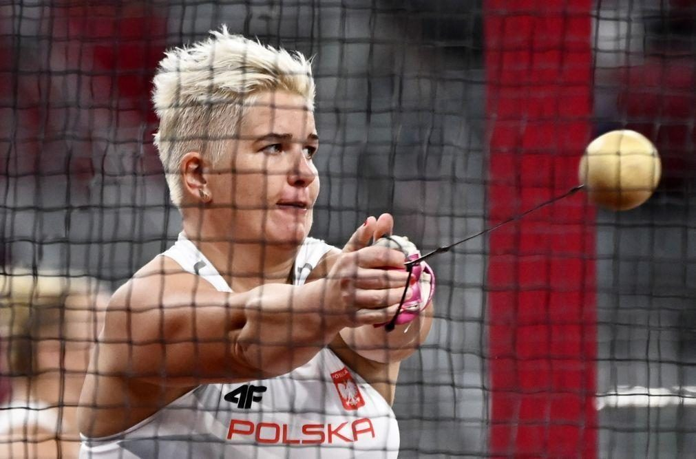 Tóquio2020: Terceiro ouro no martelo para a polaca Anita Wlodarczyk