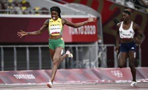 Tóquio2020: 'Dobradinha' para Elaine Thompson-Herah com triunfo dos 200 metros