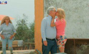 Agricultor José Luís beija Andreia depois de assumir namoro com Sónia