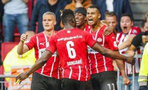 LC: PSV vence Midtjylland e é potencial adversário do Benfica no 'play-off'