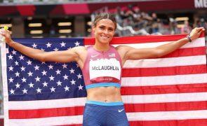 Tóquio2020: Ouro e recorde mundial para Sydney McLaughlin nos 400 metros barreiras