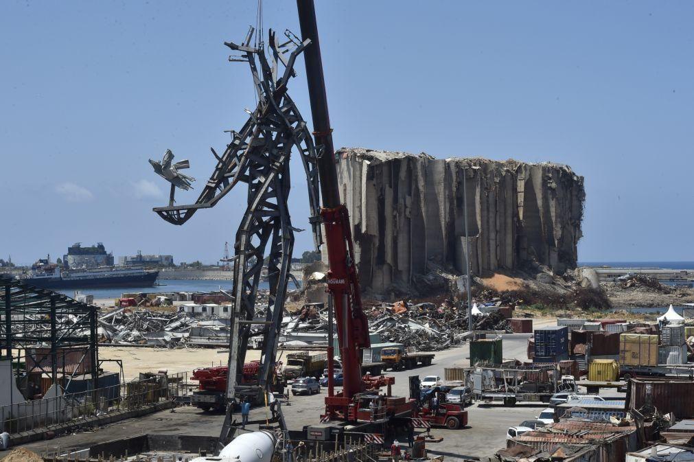 França e ONU pedem a doadores 295 milhões de euros em ajuda para salvar Líbano