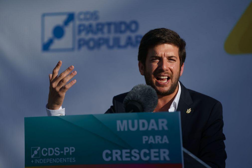 Autárquicas: CDS concorre a 251 concelhos e quer eleger mais autarcas que em 2017