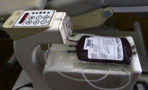 Instituto do sangue diz que reservas têm respondido às necessidades e são as habituais no verão