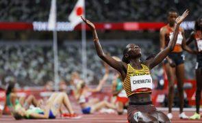 Tóquio2020: Chemutai primeira campeã olímpica de sempre do Uganda