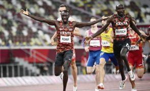 Tóquio2020: Quénia fica com ouro e prata nos 800 metros masculinos