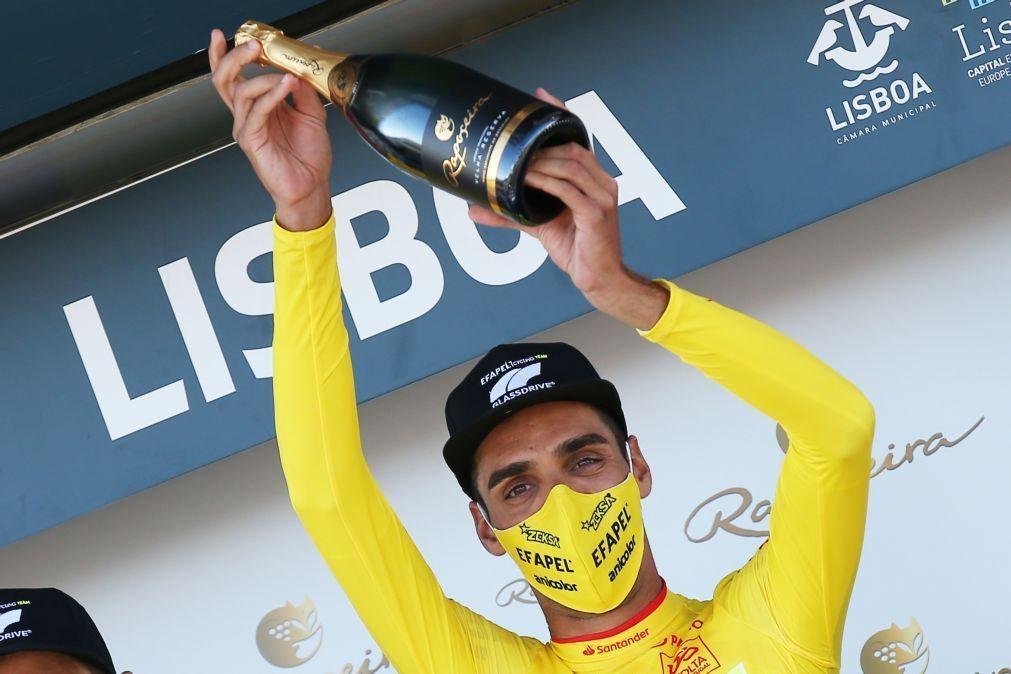 Rafael Reis vence prólogo e é o primeiro camisola amarela na Volta a Portugal