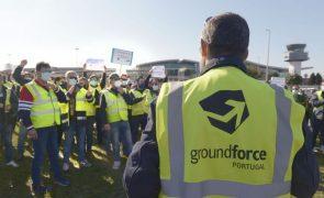 Groundforce lamenta que insolvência impeça
