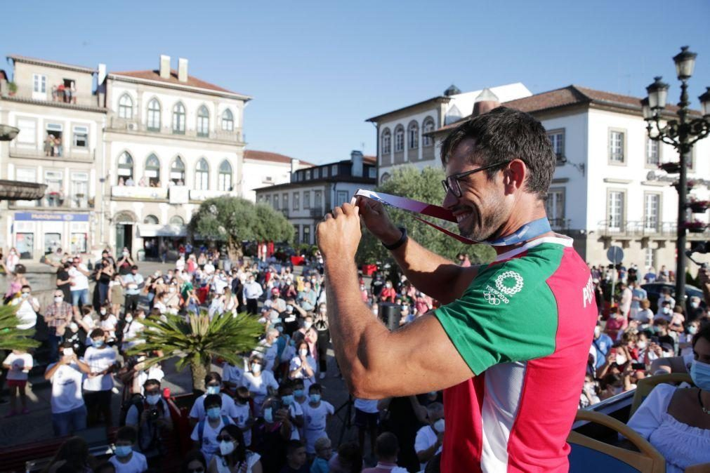 Tóquio2020: Fernando Pimenta agradece medalha