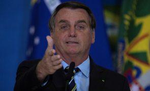 Bolsonaro arguido em inquérito sobre notícias falsas por ataque à juízes e ao sistema eleitoral