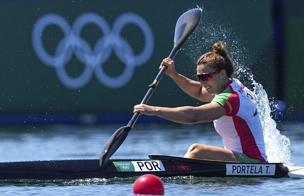 Tóquio2020: Canoísta Teresa Portela termina em sétimo lugar em K1 500 metros