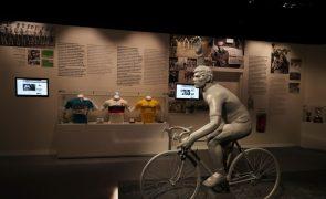 Volta: Caravana homenageou Joaquim Agostinho na inauguração do 'seu' museu