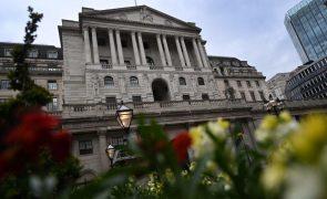 Banco de Inglaterra confirma crescimento de 7,25% e mantém política monetária