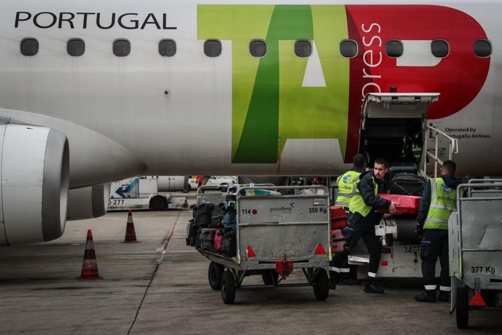 Groundforce diz que TAP lhe deve 2,5 ME por voos noturnos mas companhia discorda