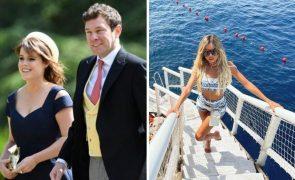 Modelo que fez topless à frente do marido da princesa Eugenie pede desculpa