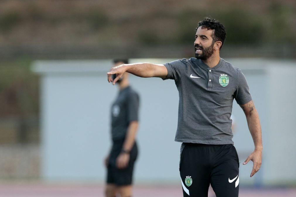 Rúben Amorim quer Sporting competente para vencer o Vizela
