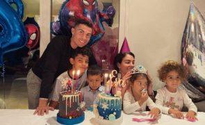 Georgina Rodríguez num momento único com os filhos: