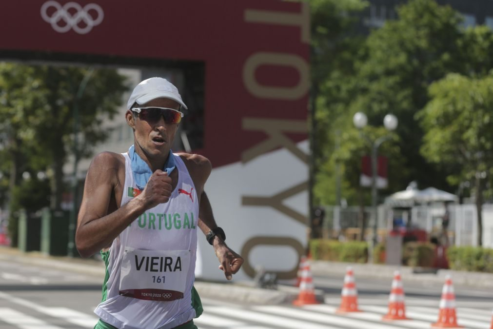 Tóquio2020: João Vieira termina 50 quilómetros marcha no quinto lugar