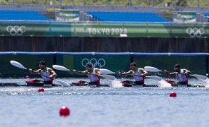 Tóquio2020: Canoístas lusos apuram-se para as meias-finais de K4 500 metros