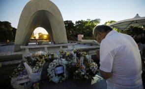 Japão lembra vítimas de bombardeamento atómico de Hiroshima