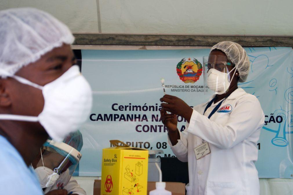 Covid-19: Moçambique vacinou mais de 58 mil pessoas nos últimos dois dias