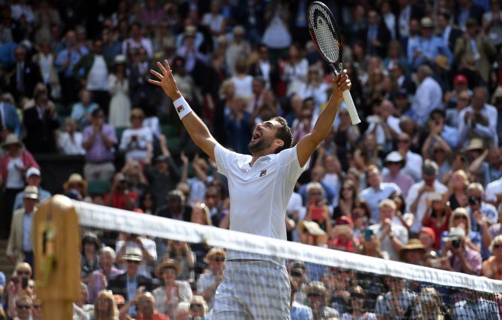 Wimbledon: Cilic apura-se para a final ao bater Querrey