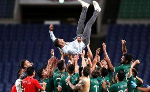 Tóquio2020: México vence Japão e conquista bronze no futebol masculino