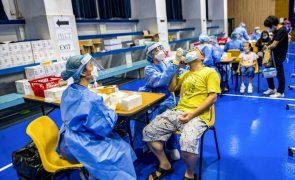 Covid-19: Testes em massa em Macau