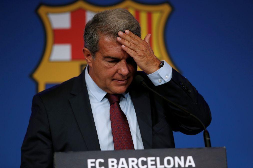 Laporta diz que renovação de Messi