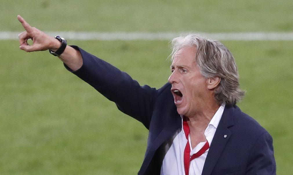 Jorge Jesus vinca que embates com Spartak têm prioridade face ao Moreirense