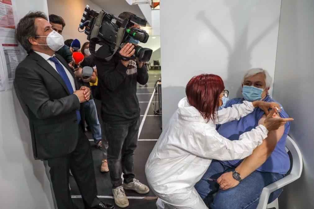Covid-19: 70% da população portuguesa vacinada com uma dose