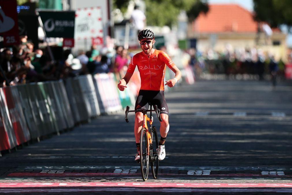 Norte-americano Kyle Murphy vence terceira etapa, Rafael Reis continua líder na Volta a Portugal