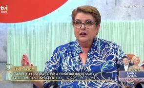 Luísa Castel-Branco perde a cabeça com Susana Dias Ramos: