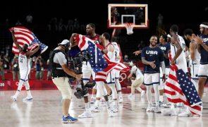 Tóquio2020: EUA conquistam torneio masculino de basquetebol pela quarta vez seguida