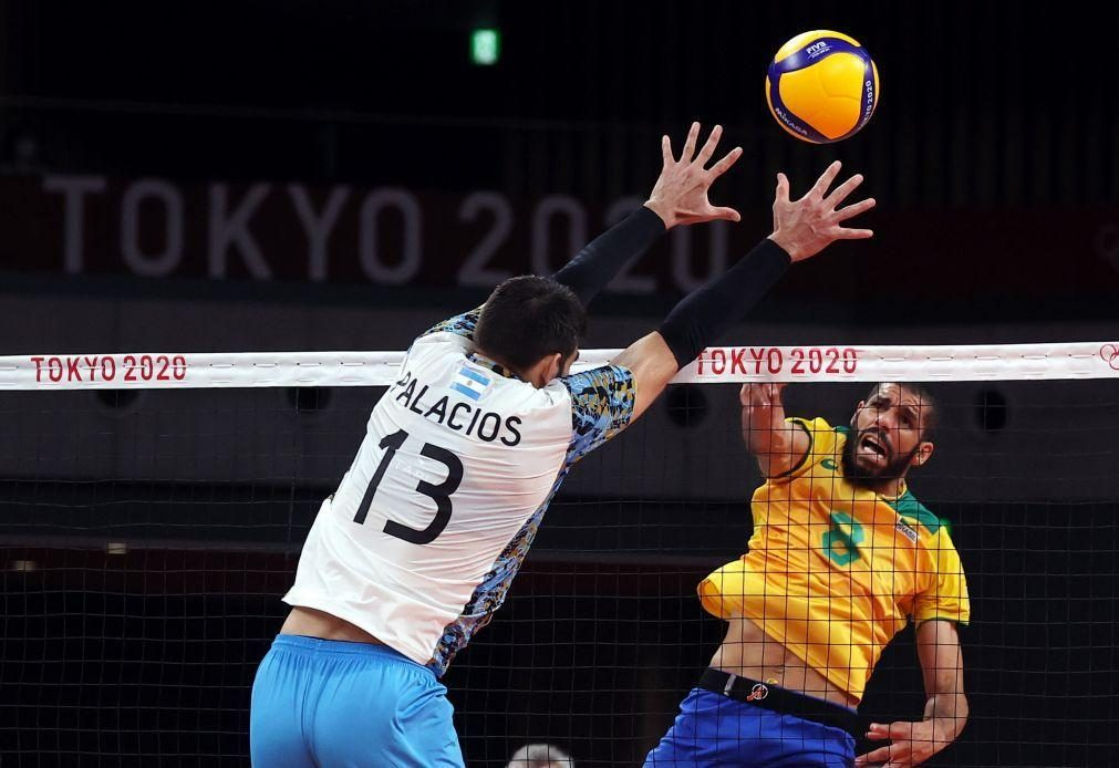 Tóquio2020: Argentina vence Brasil e conquista bronze no voleibol masculino