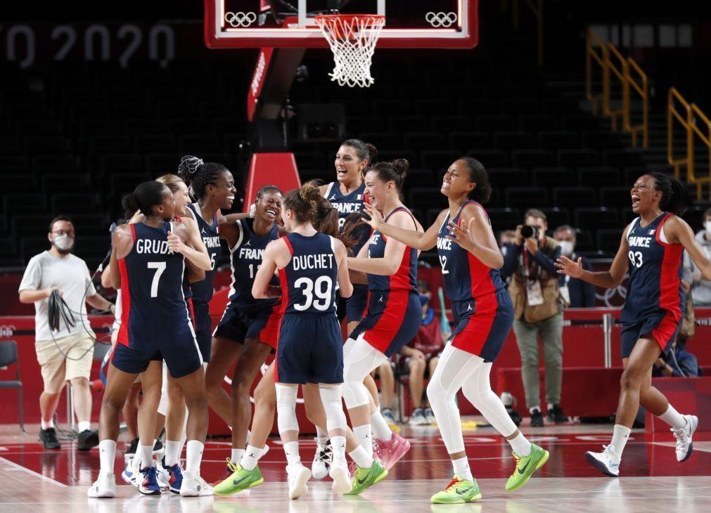 Tóquio2020: França 'vinga-se' da Sérvia e ganha bronze no basquetebol feminino