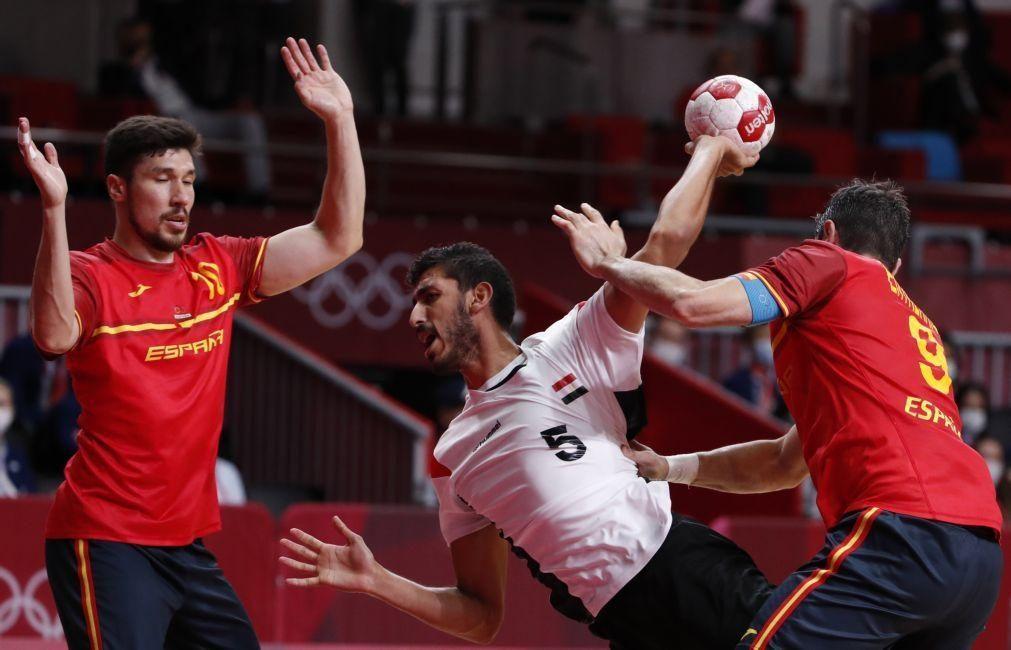 Tóquio2020: Espanha vence Egito e conquista o bronze no torneio de andebol