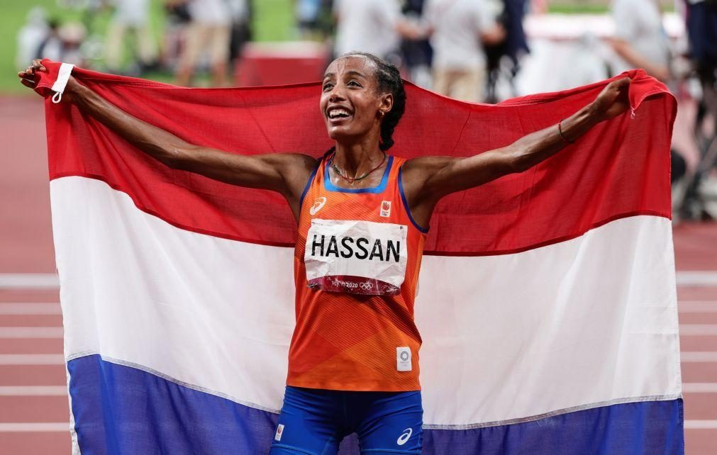 Tóquio2020: Terceira medalha e segundo ouro para Sifan Hassan nos 10.000 metros
